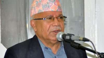 Madhav Nepal defines PM KP Oli as an authoritarian; says dissolution of Parliament against people sentiments